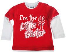 Chemises, débardeurs et t-shirts rouge hautes pour fille de 0 à 24 mois