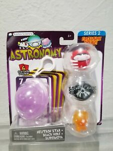 Basher Science Card Game NEUTRON STAR BLACK HOLE SUPER Figure Astronomy Series 2