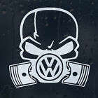 Volkswagen Gasmask Skull Logo Car Decal Vinyl Sticker VW Golf Passat Scirocco