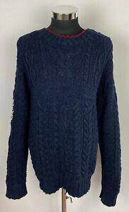 Polo Ralph Lauren, Pullover, XL, Navy, Cotton/Linen, neu, € 400,-