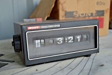 Vintage MCM Sony DT-20 Digital Clock Timer (Japan) In Original Box & Working