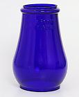 No. 0 Tubular Blue Lantern Globe Dietz Crystal Royal Victor Fire Dept King/Queen