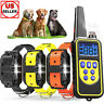 2600FT Remote 1/2/3Dog Shock Training Collar Rechargeable Waterproof Pet Trainer