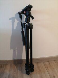 Manfrotto 290 Light Stativ mit Fluid Videokopf - Schwarz