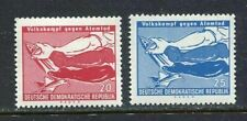 31293) DDR 1958 MNH** Fight against atomic death 2v.