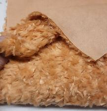 Sassy Bears Poly Plush Fur for Bears & Crafts - Fat 1/4 yard - Marmalade