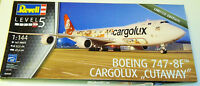 "Revell Germany 1/144 Boeing 747-8F Cargolux ""Cutaway"""
