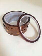 10pcs Heat Resistant High Temperature Adhesive Tape Dye Sublimation Mug Tape 5mm