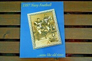 1997 Navy Midshipmen Football Media Guide