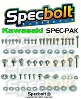 KAWASAKI Factory Match Bolt Kit KX KXF 80 85 125 250 450 500 SPECBOLT'S SPEC-PAK