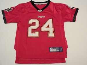 Cadillac Williams Tampa Bay Buccaneers Reebok NFL Jersey Child  Large  #24