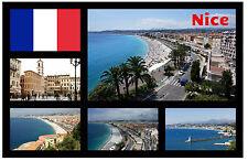 NICE, FRANCE - SOUVENIR FUN NOVELTY FRIDGE MAGNET - BRAND NEW - GIFT/XMAS/ B/DAY