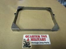 Jeep Willys MB GPW CJ2A Battery hold down bracket or frame A-1291 US MADE G503