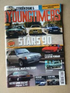 Youngtimers n°92, Jaguar Daimler XJ40, Peugeot 205 XT, Ferrari 328 GTB, Citroën