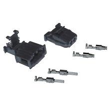 Stecker 2-polig Reparatursatz für VW 1J0972923 1J0972712 Steckverbindung Crimp