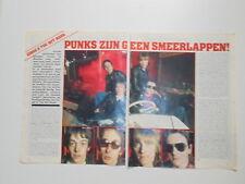 Eddie Hot Rods Kiki Dee David Byron Roussos Vangelis clippings Holland Dutch