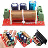Ajustable Treble Bass Frequency Divider 2 Way Speaker Audio Crossover Filters