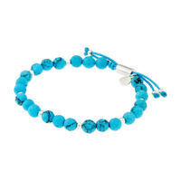 Gorjana Power Gemstone Turquoise Beaded Bracelet For Healing 17120567SPKG