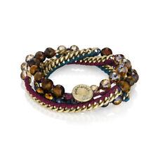 Chloe And Isabel Bead + Ribbon Multi-Wrap Bracelet - B282PR - NEW