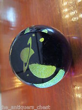 "GES Jupiter Paperweight 2007 made by Glass Eye Studio GES,  USA. 3""."