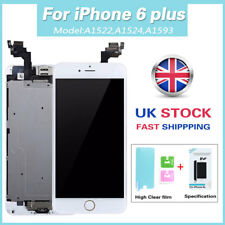 OEM Apple iPhone 6 Plus Screen LCD Touch Display Home Button Camera Replacement