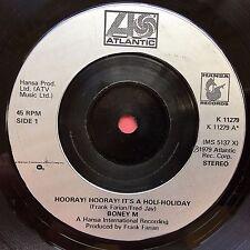 Boney M - Hooray! Hooray! It's A Holi-Holiday / Ribbons Of Blue - K-11279 Ex