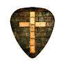 Religious FAITH Guitar Pick Jesus Cross Christian Pray Strength Assorted Picks