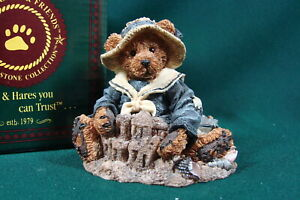 Boyds Bears & Friends Wilson At The Beach The Bearstone Collection Mint 202006