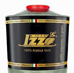 Izzo Gold Premium 12 x 1000 g Bohnen 100 % Arabica MHD 07/22 Versandkostenfrei