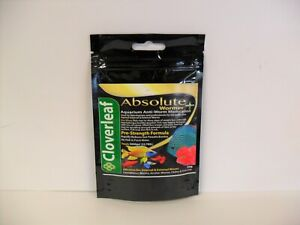 Cloverleaf Absolute Aquarium Fish Wormer + Plus. 5g, 20g & 50g packs