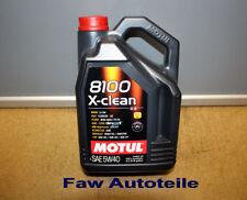 Aceites de motor sintéticos 5W40 para vehículos