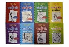 Diary of a Wimpy Kid Set 1-8 (Diary of a Wimpy Kid, Rodrick Rules, The Last Stra