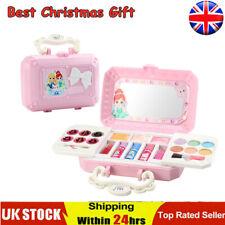 Niño Niños Cosmetics Princesa Maquillaje Box Set Seguro No Tóxico Chica Kit De Maquillaje Reino Unido *