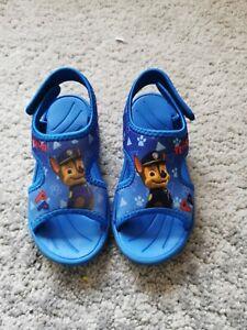 Boys Paw Patrol sandals size 7.5