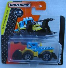 Matchbox Diecast MBX Construction 2015 Dirt Smasher New & Carded