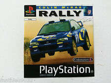 Jaquette Avant/Front Cover Colin mcrae rally Sony Playstation 1 PAL FR