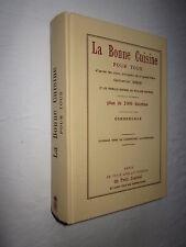 LA BONNE CUISINE POUR TOUS par CATHERINE GIRON 2000 recettes