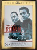 Ronin-  Robert DeNiro Gold Edition 2 Discs Reg 4 Preowned (D721)
