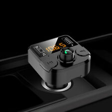 Car Bluetooth MP3 Player FM Transmitter Audio Adapter Charger Hands free Call