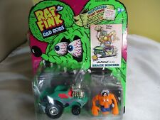 1990 Kenner Ed Roth Rat Fink Rad Rods Gearhead in His Beach Bomber