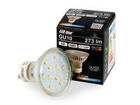 LED Line 10x GU10 3W LED Leuchtmittel Warmweiß 2700K 273 Lumen Spot Strahler