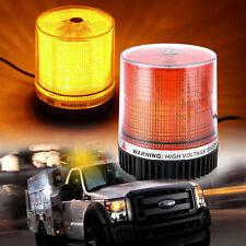30-LED 12V Amber Emergency Flash Strobe Rotating Beacon Warning Roof Top Light