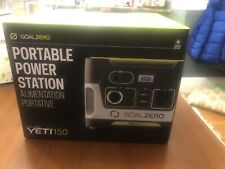 Brand New Goal Zero Yeti 150 Power Bank AC Solar Generator DC Power Station