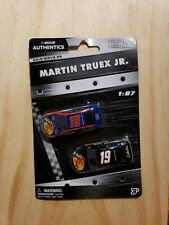 NASCAR AUTHENTICS 2019 1/87 #19 MARTIN TRUEX JR. RWB & TRACKER WAVE 5 2 CAR SET