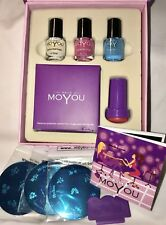 Moyou Nail Polish Art Stamping Plates Princess Set Manicure Pedicure Designs