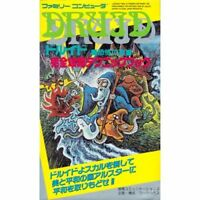 DRUID Perfect Guide Famicom Book