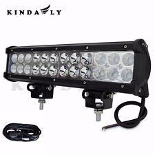 "US 12"" IP68 96W CREE Off Road LED Light Bar Car Jeep ATV/UTV with Wiring Harness"