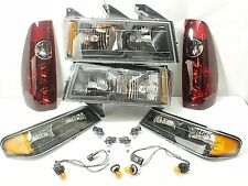 NEW SET Headlights Tail Brake Lights Turn Signal 04-12 Chevy Colorado GMC Canyon