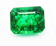 9,55CT Natürliches grünes Smaragd Smaragdform Edelsteine Ggl zertifiziert