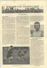 1928 Football, West Ham Play Liverpool, Mckinnon Scores For London Scottish